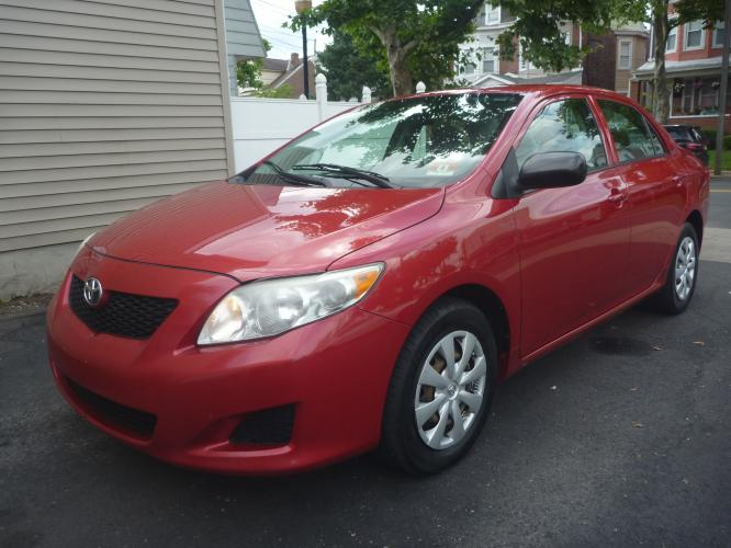 2009 Toyota Corolla MANUAL TRANSMISSION