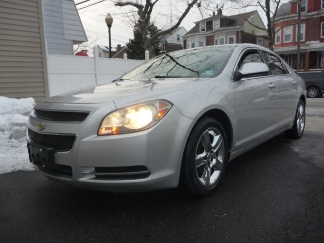2010 SILVER /BLACK CLOTH Chevrolet Malibu 1LT (1G1ZC5EB3AF) with an 2.4L L4 DOHC 16V engine, 6-Speed Automatic transmission, located at 1018 Brunswick Ave, Trenton, NJ, 08638, (609) 989-0900, 40.240086, -74.748085 - Photo #0