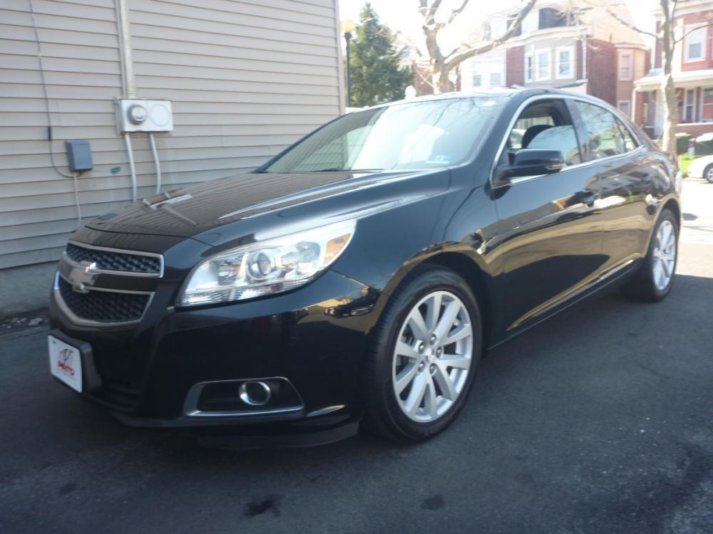 2013 BLACK /BLACK LEATHER/CLOTH Chevrolet Malibu 2LT (1G11E5SA0DU) with an 2.5L L4 DOHC 16V engine, 6-Speed Automatic transmission, located at 1018 Brunswick Ave, Trenton, NJ, 08638, (609) 989-0900, 40.240086, -74.748085 - Photo #0