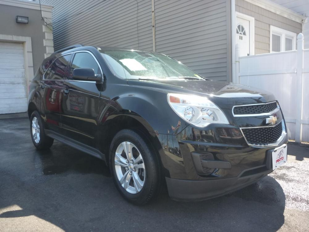 2014 BLACK /BLACK CLOTH Chevrolet Equinox 1LT 2WD (2GNALBEK9E1) with an 2.4L L4 DOHC 16V engine, 6-Speed Automatic transmission, located at 1018 Brunswick Ave, Trenton, NJ, 08638, (609) 989-0900, 40.240086, -74.748085 - Photo #0