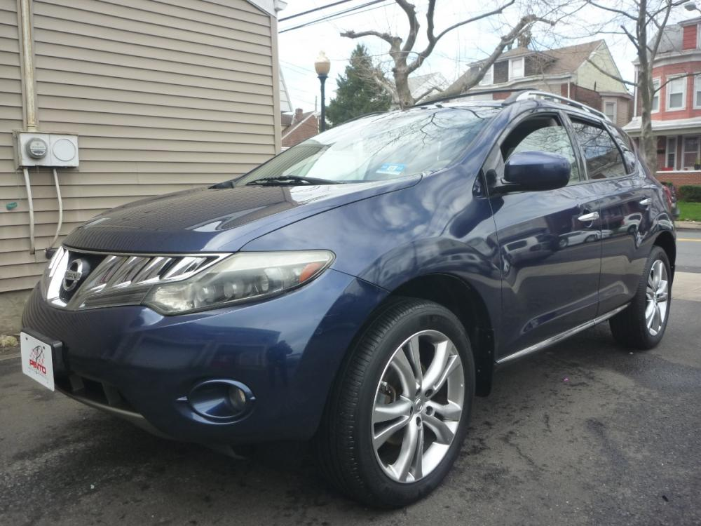 2009 BLUE /TAN LEATHER Nissan Murano LE AWD (JN8AZ18W89W) with an 3.5L V6 DOHC 24V engine, Automatic CVT Overdrive transmission, located at 1018 Brunswick Ave, Trenton, NJ, 08638, (609) 989-0900, 40.240086, -74.748085 - Photo #0